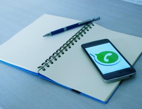 Borrar mensajes enviados en WhatsApp