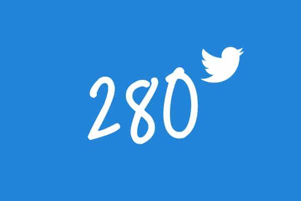 Cambios en Twitter: 280 caracteres - 1
